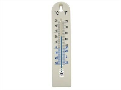 Faithfull Thermometer Wall Plastic 200mm