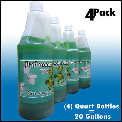 Commercial Bathroom Cleaner   20 Gallons