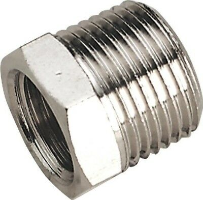 "Sealey Adaptor 3/8""BSPT Male to 1/4""BSP Female"