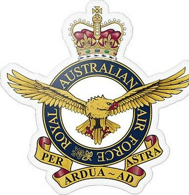 RAAF Royal Australian Air Force Transparent Sticker