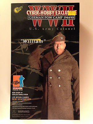 "Dragon 12"" Wwii 1944 Cyber-Hobby Bruce Willis Hart's War Colonel William Figure"