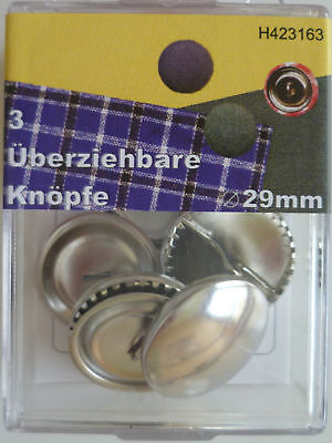 Cover Buttons 29 mm