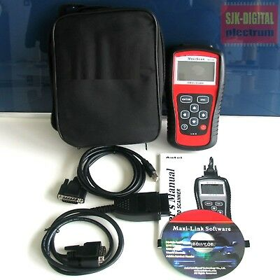 + OBD2 Autel MaxiScan MS509 CAN Diagnose Scanner BMW MB KIA VW AUDI in Deutsch +