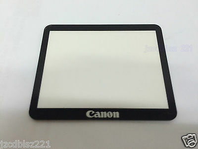 Outer TFT LCD Screen Display Window Glass Repair For Canon EOS 5D Mark II 5D2