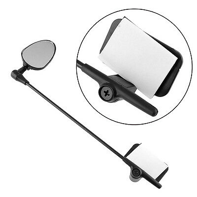 Bike Bicycle Cycling Helmet Rearview Rear View Reflector Mirror Safty
