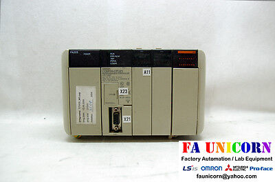 [Omron] CQM1H-CPU21 CPU + PA203 Power Omron PLC USED Fast Shipping