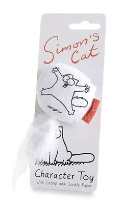 Simon's Cat toy kitten catnip crinkle pet sharples 'n' grant