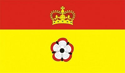 Hampshire Flag 5 x 3 FT - 100% Polyester With Eyelets - Flag - English County