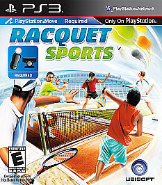 Racquet Sports GAME (Sony Playstation 3) PS PS3