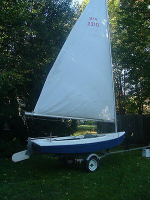 """Ray Green Nipper 12 Sailboat"""" May trade for wooden boat"""" PRICE REDUCTION!!!"""