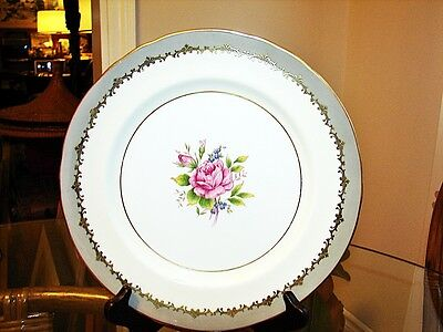 """AYNSLEY EASTBOURNE 10-1/2"""" PLATE - EXCELLENT"""
