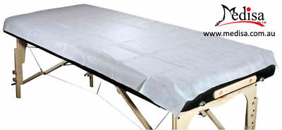 Disposable Bed Cover Massage Table Cover Single Bed Sheet Pkt of 10 Pcs