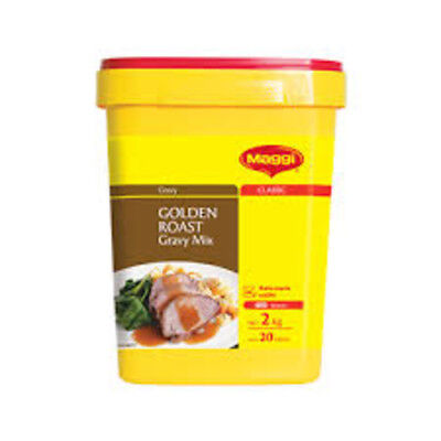 MAGGI GOLDEN ROAST GRAVY MIX 2kg - GLUTEN FREE