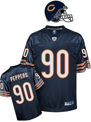Maillot nfl Foot US américain BEARS N°90 PEPPERS Taille L (US) -  XL (fr)
