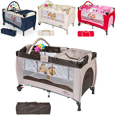 Baby reisbed bed lit kinderbed reisbedjes met commode