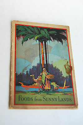 Vintage Dromedary Advertising Booklet, Recipes, Foods From Sunny Lands