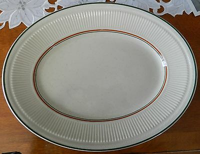 Shenango China New Castle PA Heavy Speckled Restaurant Platter