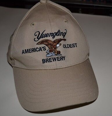 USED Tan Yuenglin Beer Adjustable Hat Summer Sunny Weather FREE SHIPPING