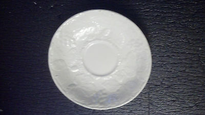 Two saucers - Grape Leaf-White  As oirg prod by Davenport by BURGESS & LEIGH