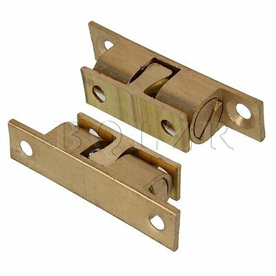 4 x Copper Door Cabinet Cupboard Furniture Catch Stopper Holder Latch
