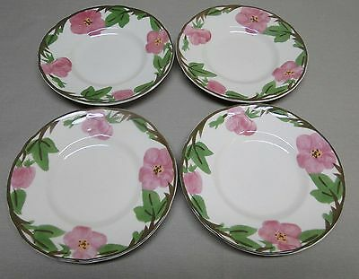 Franciscan DESERT ROSE 4 Bread and Butter Plates  EXCELLENT