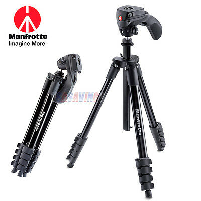 Manfrotto TRIPOD MKCOMPACTACN-BK for SONY With Pan Tilt head