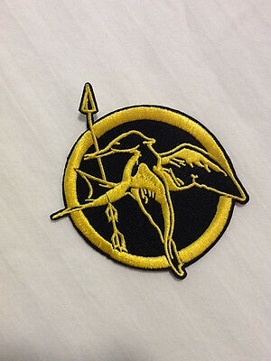 Lot of (1) Mockingjay Hunger Games Movie Logo Hat Shirt Jacket Embroidered Patch