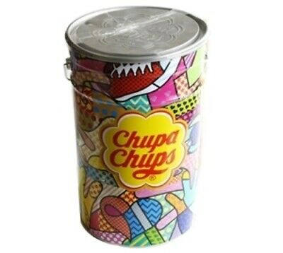 Empty Chupa Chups Tin - Very Good Condition (As New)