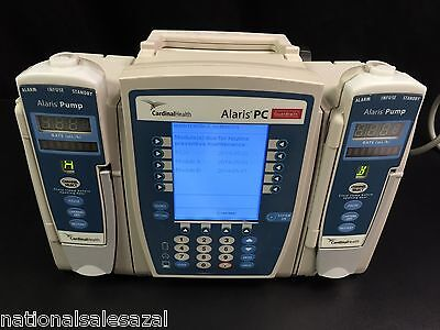 Alaris Carefusion Medley PCU Infusion System 8000 with 2 Pump Module's 8100