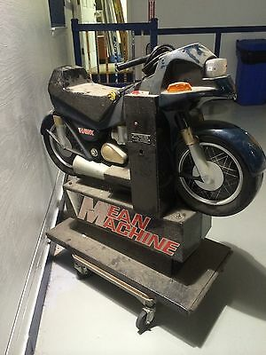 Classic Vintage Motorcycle Riding Coin Op Kiddie Amusement Ride