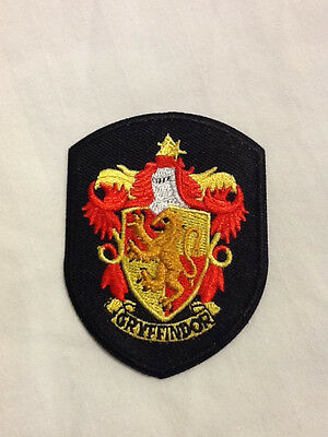 Harry Potter Gryffindor Crest Shield Shirt Hat Embroidered Iron On Robe Patch B