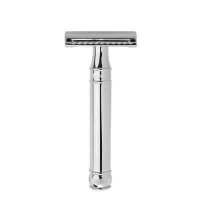 Edwin Jagger Safety Razor, Chrome Plated Metal