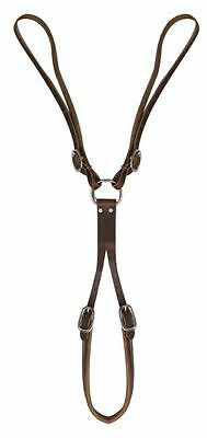 American Made Western Horse Saddle Adj Leather Tail Crupper Rider Safety MEDIUM
