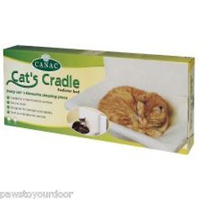 Canac cat cradle radiator bed hammock wide radiator