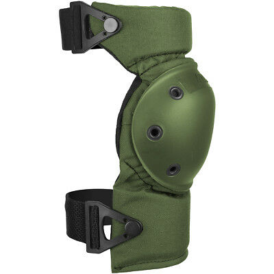 Alta Army Tactical Protection Knee Pads Altacontour Airsoft Cordura Olive Green