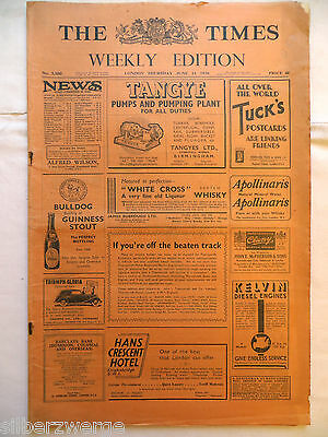 The Times  Weekly Edition  11. June 1936