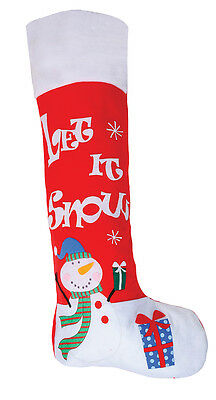Snowman Giant Jumbo Christmas stocking, Xmas, Sack Bag Extra Large