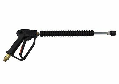 "Pressure Washer Jet Wash Gun And Lance 1/4"" Male Inlet"