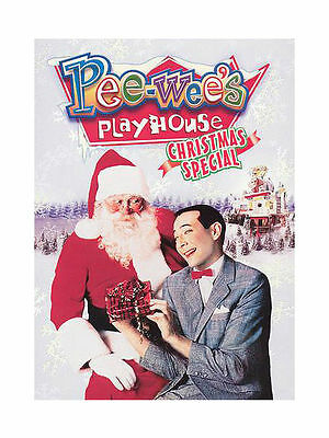 Pee Wee's Playhouse Christmas Special NEW and UNOPENED.  Free US Shipping