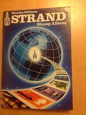 All World Stamp Collection In Modern Strand Album, 2100 Stamps