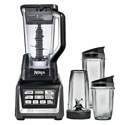 Nutri Ninja® Blender DUO with Auto-iQ NEW in Box BL-642