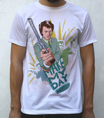 Clint Eastwood T shirt Artwork, Dirty Harry Inspired