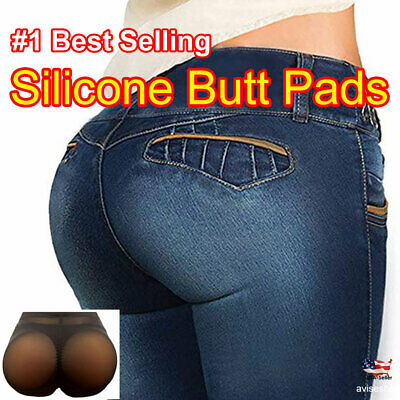 #1 Big Silicone Butt Pads buttock Enhancer Shaper Brief  Panties Tummy Control