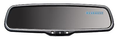 Auto Dimming Rear View Mirror with Blue Radar Detector Display