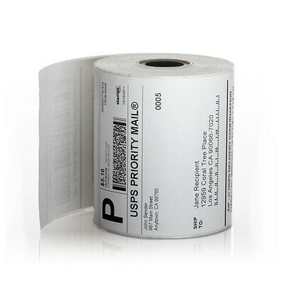 5000 4x6  Zebra LP2844 ZP450 Direct Thermal Labels  20 rolls ( SHIPS TODAY )