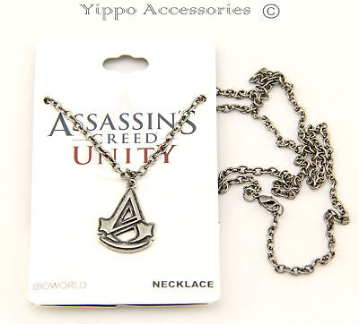 Assassins Creed Unity Licensed Logo Necklace