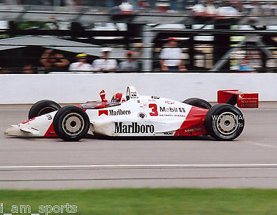 RICK MEARS 1991 INDIANAPOLIS INDY 500 WINNER 8x10 PHOTO
