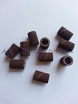 Sanding Bands Acrylic Gel Drill File Nail Art Pedicure Manicure Tip
