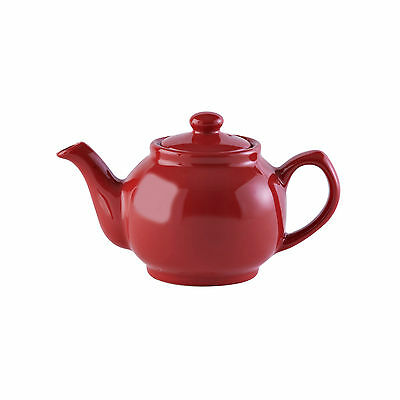 A Price and Kensington 6 cup teapot red.