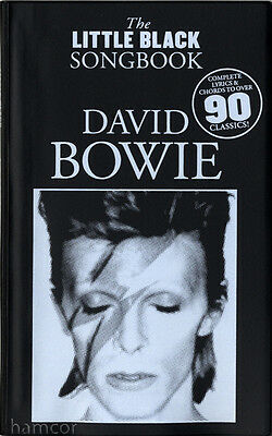 David Bowie The Little Black Songbook Guitar Chord Music Book Learn Strum & Play